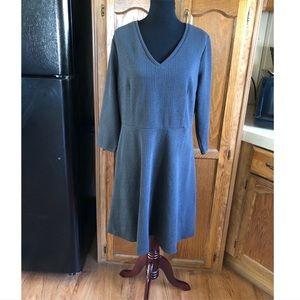 Merona Dresses - Merona Subtle Houndstooth Skater Dress Size XXL